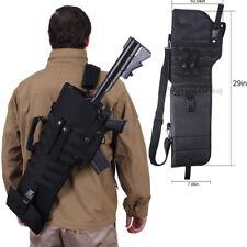 Tactical Shotgun Rifle Scabbard Bag Molle Shoulder Sling Case Holster for Hunt