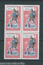 JOURNÉE DU TIMBRE - 1962 YT 1332 bloc de 4 - TIMBRES NEUFS** LUXE