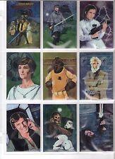 1996 Star Wars Finest 90 card set