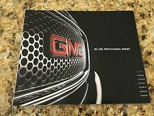2007 GMC SIERRA CANYON YUKON ARCADIA ENVOY SAVANA 28-pg Original Dealer Brochure