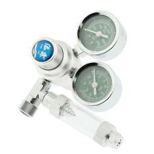 Aquarium CO2 Regulator with Check Valve Fit For W21.8 Connector Dual Gauge