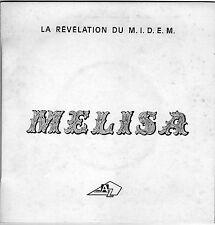 MELISA J'AI BESOIN DE TOI / AH ! (A TOUT JAMAIS) FRENCH 45 SINGLE J.C. VANNIER