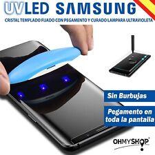 Protector Pantalla Samsung Galaxy S10-S10 Plus-S10e Cristal Templado UV LED