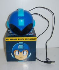 Nerd Block Arcade Block Exclusive Megaman Helmet Speaker - New Capcom