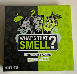 Wow Wee What's That Smell? The Party Board Game Complete