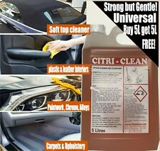 Car seat, plastic cleaner, universal, powerful, SOFT TOP CLEANER amazing! x 10L