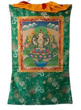 Thangka tibetaine Chenrezig-Tchenrezi -Tangka Tenture Bouddhiste-105x 72cm- 5960