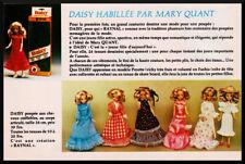 Pub Publicité Advertising  DAISY de MARY QUANT   Vintage Année 1978