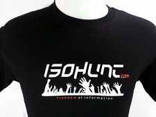 Jinx Isohunt Men T-Shirt Size Small Torrent Online Computer Information Black