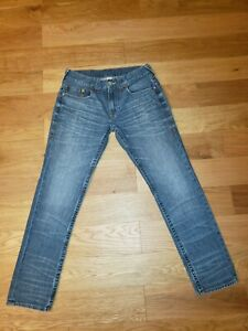 True Religion Skinny Distressed OM Jeans  Men's Size 33 33/32