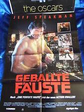 GEBALLTE FÄUSTE - Jeff Speakman -FilmposterA1(59x84 Plakat Poster Kinoplakat 1C1