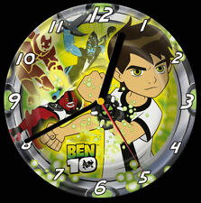 Ben 10 CD Clock, free stand can be personalised