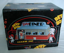 Vintage Collectable BETTY BOOP Betty's Diner Cookie Jar Ceramic