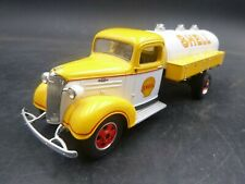 1ST FIRST GEAR SHELL 1937 CHEVROLET FUEL TANKER #12 1/34