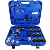 28PCs Universal Radiator Pressure Tester Kit Coolant Vacuum Type Cooling System