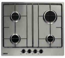 1033 Gas Hob Zanussi ZGG65414XA 4 Burner with Auto Ignition Stainless Steel