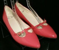 Cole Haan Grand.Os pink patent leather mary jane D42953 slip on flats 7.5B