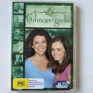 Gilmore Girls : Complete Season 4 (DVD) Australia Region 4