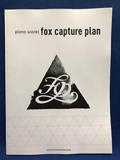 Fox Capture Plan Piano Score Japan Jazz Rock Solo Arrange Sheet Music Book F/S