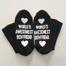 Funny Cotton Socks World's Awesomest Boyfriend/Girlfriend Valentine's Day Gift