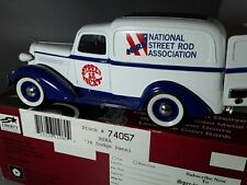 Spec Cast NSRA 1936 Dodge Panel Delivery Coin Bank 1/28 Scale