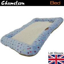 Pet Bed with Fleece Soft Comfy Fabric Washable Dog Cat Dogs Cats