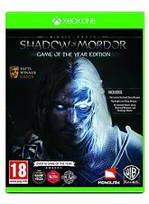 La tierra media: sombra de mordor Goty (Xbox One) Nuevo Sellado