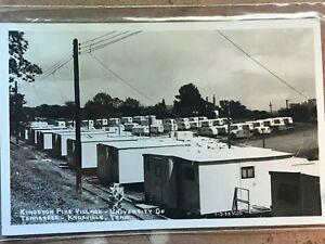 Vintage Knoxville Tennessee Kingston Pike Village UT Real Photo Postcard 1939