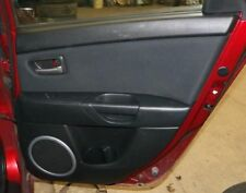 MAZDA 3   2006 Door Trim Panel, Rear 189367