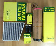 MANN-FILTER FILTER SET 4 x FILTER W211 S211 320 CDI 150 KW 204 PS