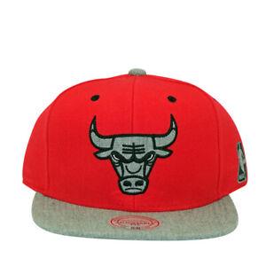 Chicago Bulls Greytist Mitchell and Ness Snapback