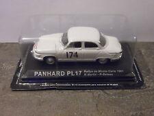 1/43ème ALTAYA -PANHARD PL17 -Rallye de Monte-Carlo 1961 (M. Martin & R. Bateau)