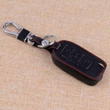 Leather Holder Flip Key Case Cover Shell Chain Bag Fit For VW Beetle Golf Jetta