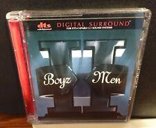 BOYZ II MEN II DTS DIGITAL SOUND 5.1 CD NEAR MINT CONDITION