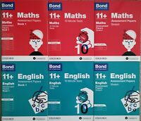 Bond 11+ English & Maths Assessment Papers, Ages 10-11 Years New!!!!