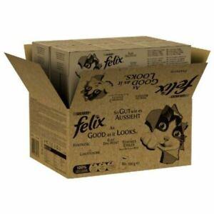 Felix As Good As It Looks Jumbo Saver Pack 160x100g Fish Or Meat Varieties Wet