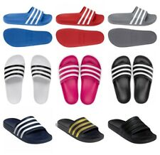 Adidas Slides Mens Sliders Adilette Aqua Beach Flip Flops Sandals Slide Shoes