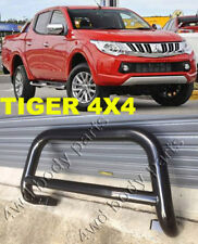 Mitsubishi Triton MQ 2015 to 2018 3 Inch Black Steel Low Loop Nudge Bar