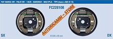 FC228108 KIT GANASCE FRENO COMPLETO FIAT MULTIPLA