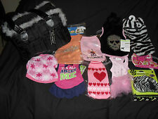 GORGEOUS BOUTIQUE PET CARRIER /8 DOG CLOTHES/ BODY HARNESS & LEAD BNWT SMALL