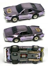 1975 Aurora AFX G-PLUS G+ HO Slot Car Purple Chrome Mercury Stocker #1951 Unused