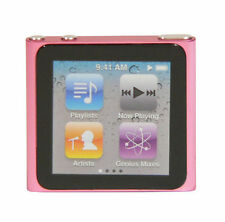 Lecteur Multimédia Apple iPod nano 6ème Génération Rose 8 Go (Dernier Modèle)