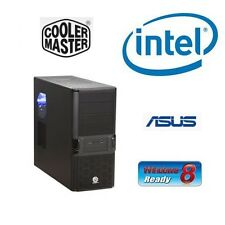 Intel I7 3770K Quad Core Entsperrt CPU Asus H61 Mainboard 8GB RAM Barebones PC