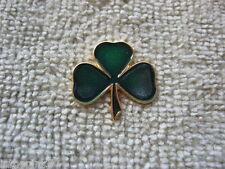 Saint Patrick's Day Shamrock Lapel Pin St Patrick's Shamrock Pin New