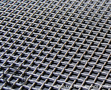 "Stainless Steel T316 Diamond Woven Mesh Grille Screen Sheet 16""X48"" Grill Grid"