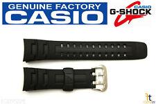 CASIO GW-002E G-Shock Original 16mm Black Rubber Watch Band Strap G-7600 G-7400
