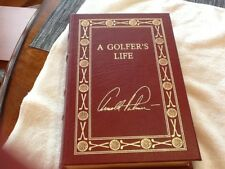 ARNOLD PALMER Easton Press A GOLFER'S LIFE LTD SIGNED Collector's Edition