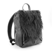 NWT! Think Geek Game of Thrones Jon Snow's Backpack Canvas Faux Leather & Fur