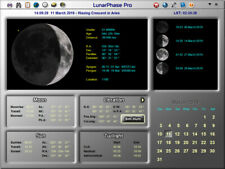 LunarPhase Pro Moon Astronomy Software CD