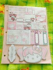Hello Kitty Limited Edition Sticky Notes Set Japan Pink Hair Hello Kitty Planner